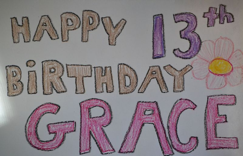 grace is a teenager now